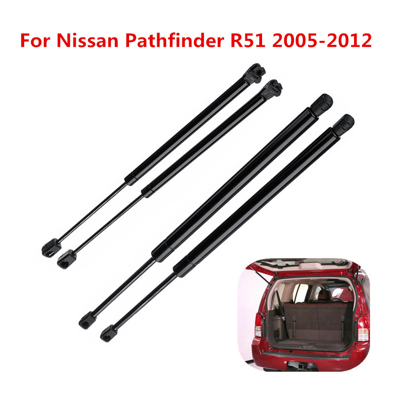4PCS Hatch Window Glass Rod Replacement Set Damper for Kia Sportage 2005-2010
