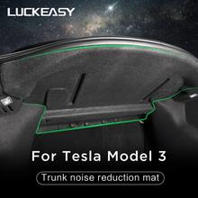 LUCKEASY shock absorption and Noise reduction for Tesla Model 3 2017-2019 Custom Fit Car Trunk noise reduction mat luckeasy shock absorption and noise reduction for tesla model 3 2017 2019 custom fit car trunk noise reduction mat