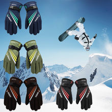 2020 New Winter Warm Sports Gloves Men Ski Gloves Women Snowboard Gloves Snowmobile Motorcycle Riding Winter Gloves Windproof 20(China)