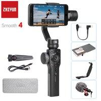 Mejor Pre-ordenar zhiyun Smooth Q 3 ejes gimbal estabilizador 2000mah batería para smartphone iphone 7 plus 6 más samsung s7 s6