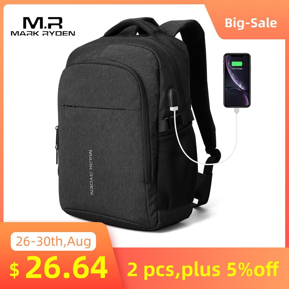 Travel Backpack Laptop Man Bags Usb-Charging Mark Ryden Multifunction Mochila Male Fashion