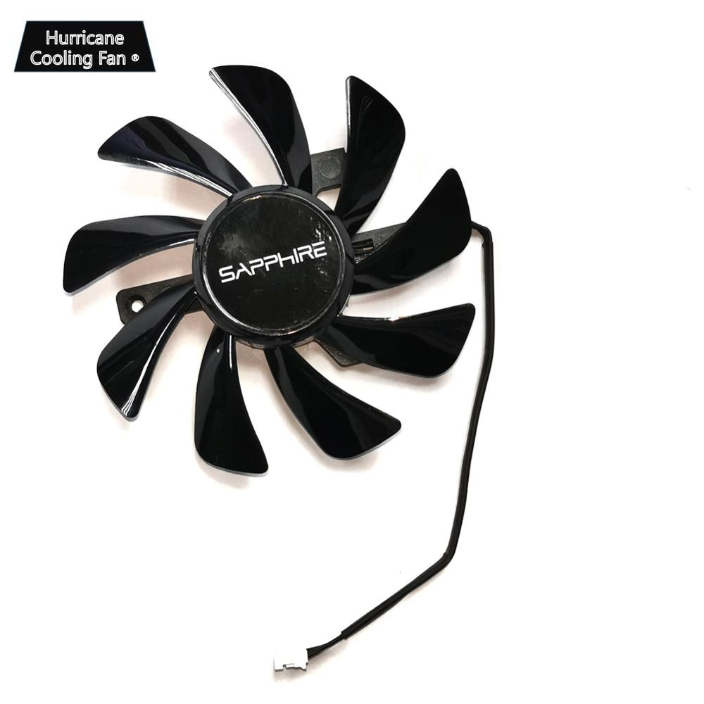 New For Sapphire RX 570 GPU Cooler Video Card fan for Radeon sapphire RX570 ITX graphics Card Cooling System As Replacement image
