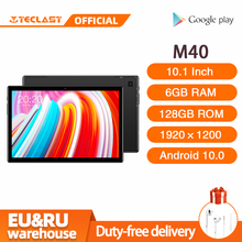 Teclast M40 10,1 zoll Tablet Android 10,0 6GB RAM 128GB ROM UNISOC T618 Octa Core 8MP Kamera Bluetooth 5,0 4G Anruf WiFi