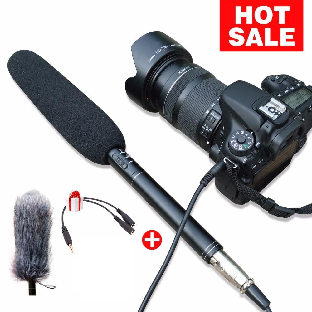 Ulanzi Arimic Профессиональный дробовик микрофон для интервью направленный конденсаторный микрофон для DSLR DV видеокамер видеокамера Микрофон