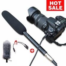 Ulanzi Arimic Professional Shotgun Interview Microphone Directional Condenser MIC for DSLR  DV Camcorders  Video Camera Mic