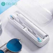 Youpin Dr.Bei elektryczna szczoteczka do zębów wodoodporna akumulatorowa szczoteczka do zębów Sonic przenośne elektryczne szczotka do zębów z pudełkiem