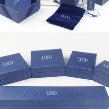 Necklace-Box Bracelet Jewelry Crystal From-Swarovskis Brand-Box Original Swans New