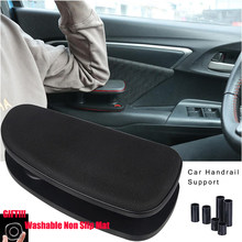 Accessoires universels Anti-fatigue de voiture | Automobile, réglage universel Anti-fatigue de voiture, accoudoir à main gauche, Support de Support au coude, Installation de Support, tapis en Silicone(China)