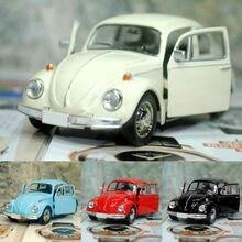 Favores de fiesta Vintage escarabajo fundido tirar atrás coche modelo juguete niños regalo Mesa decoración superior
