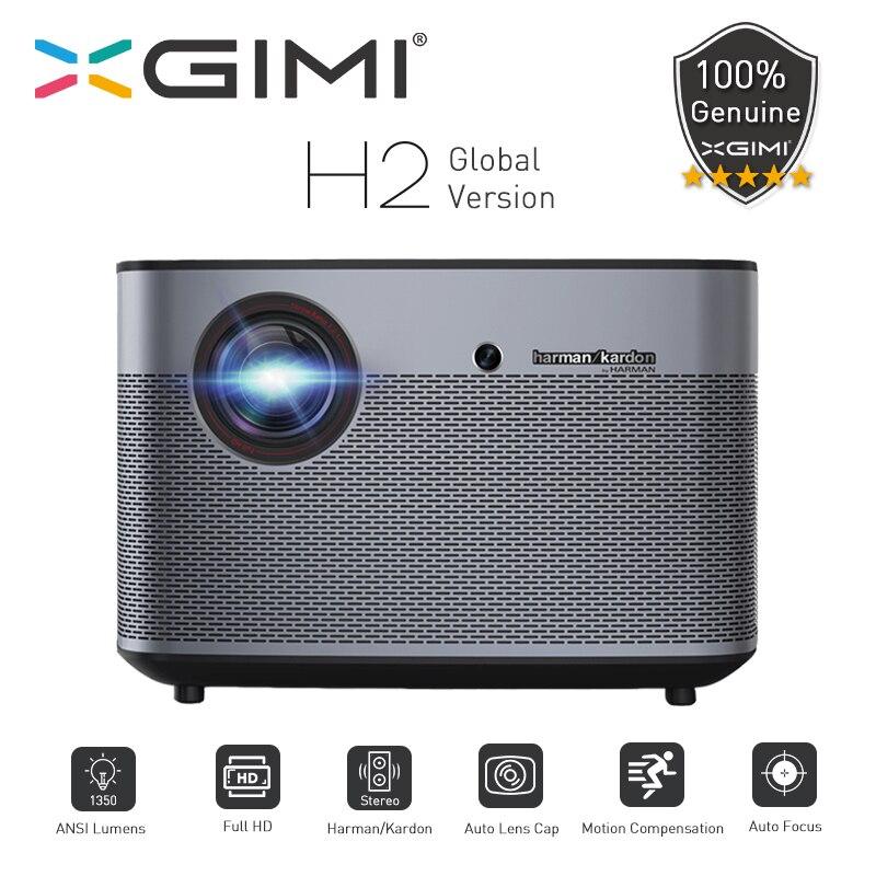 XGIMI H2 DLP Projecteur 1080P Full HD 1350Ansi Lumens 4K Projecteur 3D prise en charge Android Wifi Bluetooth Home cinéma version mondiale