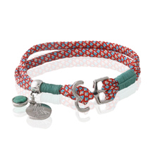 Ribbon bracelet hand made bracelets for woman Colored rope banger charm Christmas gifts