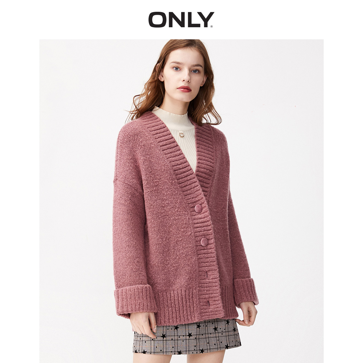 ONLY Women's Loose Fit Cardigan Knit | 11933B506