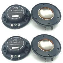 4 Pcs PURE Aluminum wire Aft Diaphragm For Wharfedale D 533A Driver D533a Evp Series&Titan 8Ohm