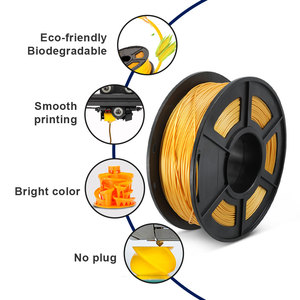 Image 3 - Filamento per stampante 3D SUNLU PLA Plus PLA 1.75mm arcobaleno 1KG con bobina di seta PLA filamento 3D materiale di stampa 3D