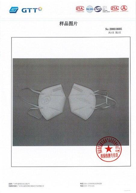 Free Shipping 5/10pcs N95 FFP3 FFP2 Mask 5 Layer Flu Anti Fog Protective Masks Respirator PM2.5 Safety Protection Wholesale 3