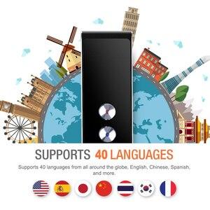 Image 2 - แบบพกพาภาษา Voice Translator, T8 Real Time ทันที 2 Way 40 ภาษาคำสำหรับ Travel การเรียนรู้