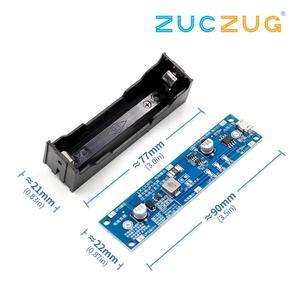 Image 4 - 5v/12v 18650 リチウムバッテリ昇圧ステップアップモジュール充電放電同時にups保護ボード充電器回路リチウムイオン