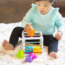 1PC Educational Cube Bricks Animal Geometric Shape Matching Blocks Sorting Box Plastic Baby Intelligence Toy Building Blocks