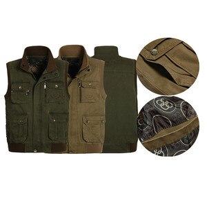 Image 5 - ICPANS gilet classique pour hommes avec plusieurs poches, veste de travail sans manches pour photographe, veste multi poches grande taille, modèle 2019 pour hommes décontracté