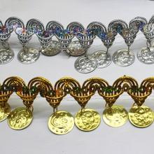 YACKALASI 10 Yds In Metallo Paillettes Frangia di Pizzo Oro Argento Intrecciato Fascia Trim Cosplay Costumi Appliqued Cucire Appare 4.5 CENTIMETRI