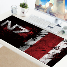 купить Large Mouse Pad Rubber PC Computer Gaming Gamer Anti-slip Mousepad Mice Keyboard Desk Protector XL Rubber Desk Mat for LOL CSGO дешево