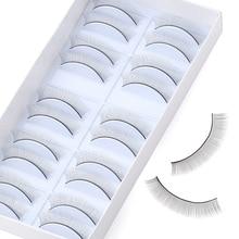 False-Eyelashes Beginners Practice Teaching-Tools 10pairs/Box