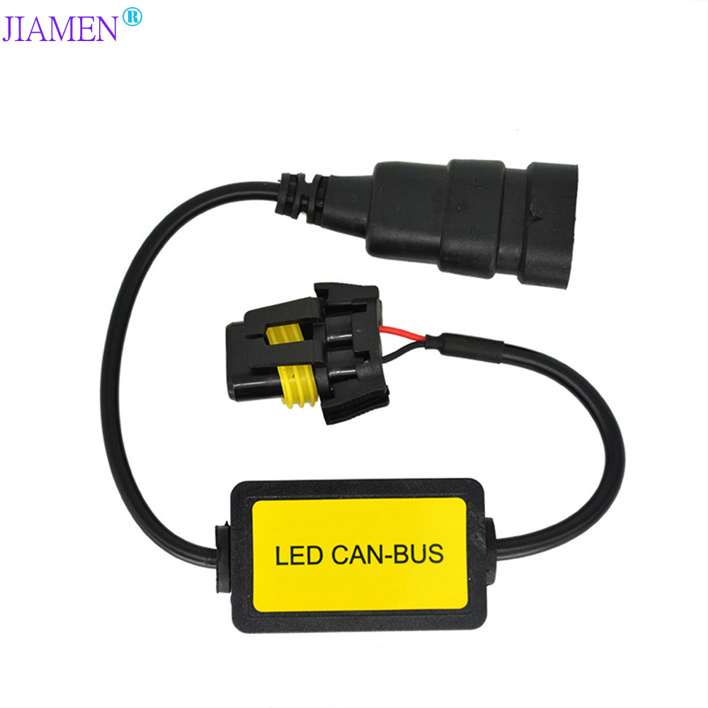 <font><b>LED</b></font> <font><b>H7</b></font> <font><b>can</b></font> <font><b>bus</b></font> Decoder Warning Canceller Capacitor Anti-flicker Resistor harness Canbus H4 Error Free H1 H3 H11 HB3 HB4 image