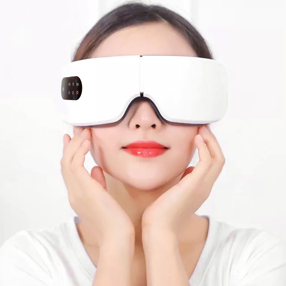 2020 Smart Eye Care Machine With Box Anti Wrinkles Eyes Heater Device For Tired Eyes 10S Heated Goggles Dark Circles