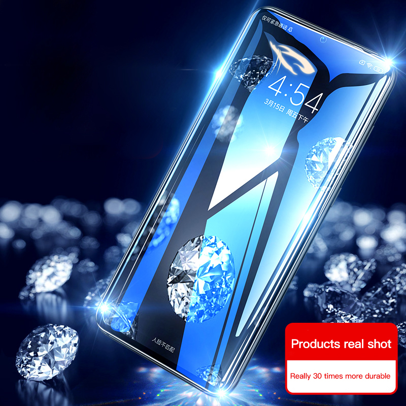 Full Cover Screen Protector Tempered Glass For Xiaomi Mi 9 8 6 SE Lite Pocophone F1 Protective Film For Redmi Note 5 6 7 Pro