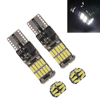 T10 W5w Canbus samochodów wewnętrzna lampka 194 501 26LED 4014 SMD12V 6000K białe światło kontrolki lampy światło kopuły nie błąd tanie i dobre opinie JOSHNESE CN (pochodzenie) Klirens lights T10 (W5W 194) 12 v Uniwersalny T10 Canbus 26smd led 2 5w Decoding light The width light