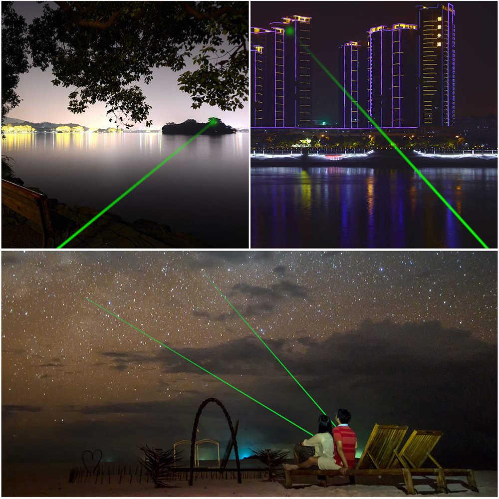 303 532nm ירוק לייזר Sight לייזר מצביע עט גבוהה עוצמה ציד לייזר מכשיר מתכוונן פוקוס (ללא סוללה)