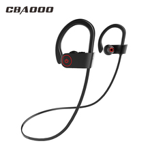 CBAOOO K8 Bluetooth Headset Sports Wireless Bass Stereo IPX4 Waterproof Microphone Headphones