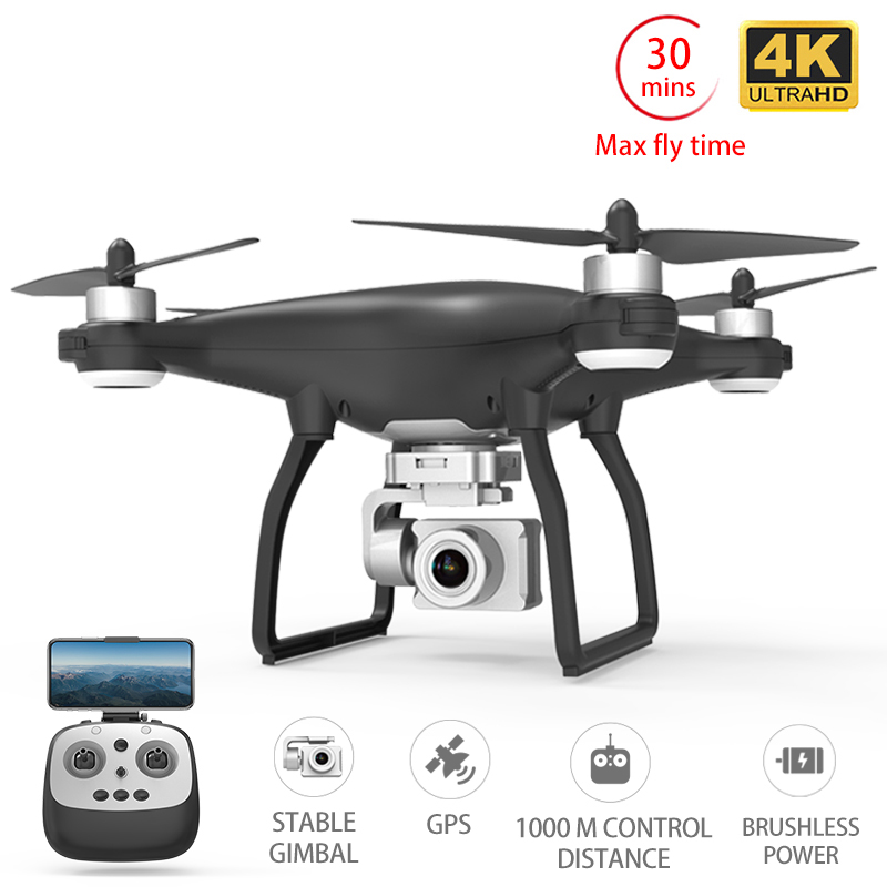 X35 Drone GPS WiFi 4K HD Camera Profissional RC Quadcopter Brushless Motor Drones Gimbal Stabilizer 30mins flight rc helicopter