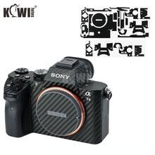 الكربون الألياف المضادة للخدش الجلد طبقة رقيقة واقية لسوني A7M2 A7SM2 A7RM2 A7 II A7S II A7R II A7II A7SII A7RII كاميرا 3M ملصقا