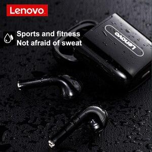 Image 5 - Auricolari Wireless Lenovo Bluetooth 5.0 TWS con microfono PK auricolare Wireless Air 2 Smart Sensor Rename cuffie sportive GPS