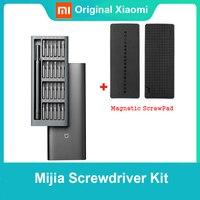 Xiaomi NORMA MIJIA Wiha Set di Cacciaviti di 24 in 1 Torx Multifunzionale di Riparazione di Apertura Tool Kit Box in Alluminio di Precisione Magnetico Uso Quotidiano