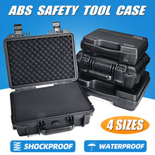 ABS Plastic Sealed Waterproof Safety Equipment Instrument Ca