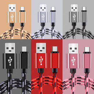 Image 5 - Olnylo USB Micro Cable For Samsung Huawei 3A Fast USB Charging Micro Charger Data Cable For xiaomi Redmi note 8 USB C Cabo Wire
