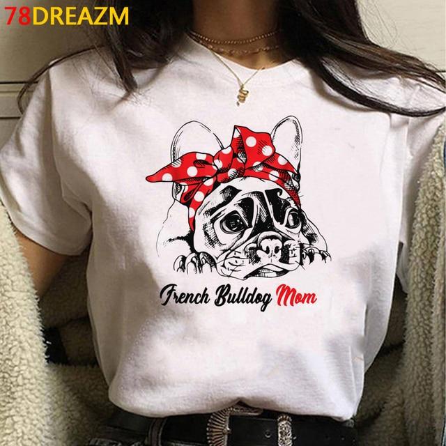 Women's T-Shirt With Puppy Logo  4