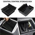 Для Tesla Model3 центральный автомобильный подлокотник для хранения Коробка для Tesla модель 3 2021 аксессуары центральной консоли Флокирование Орга...