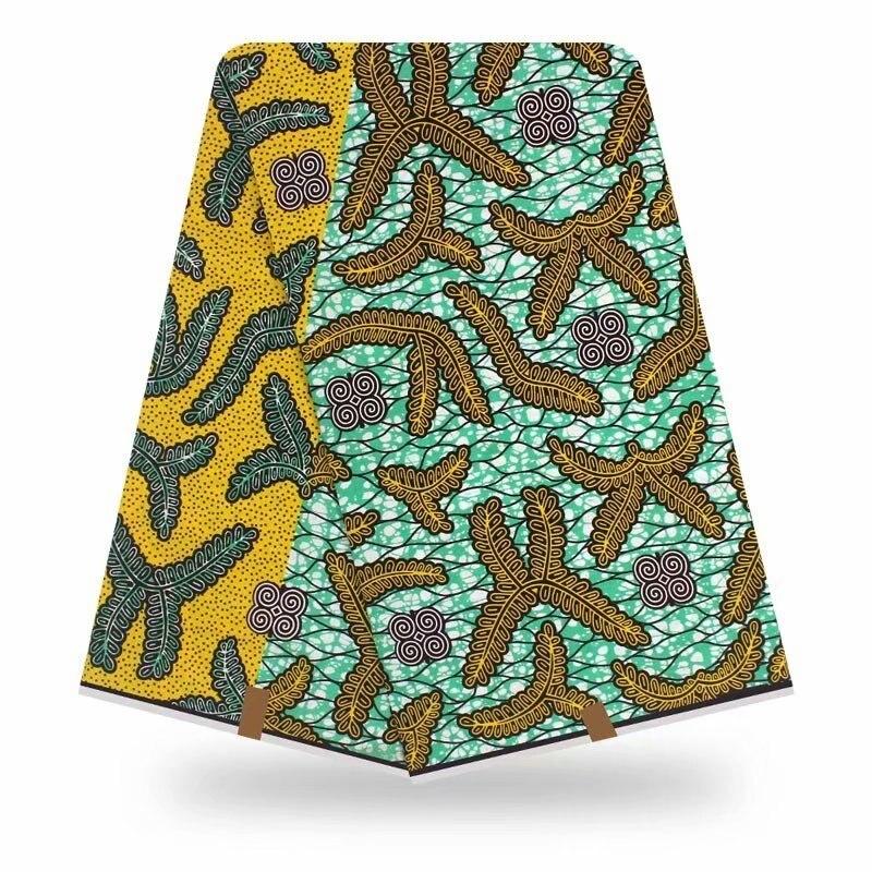2020 New Arrival African Ankara High Quality Wonderful Guaranteed Real Dutch Wax Fabric 100% Cotton Pagne Avogan