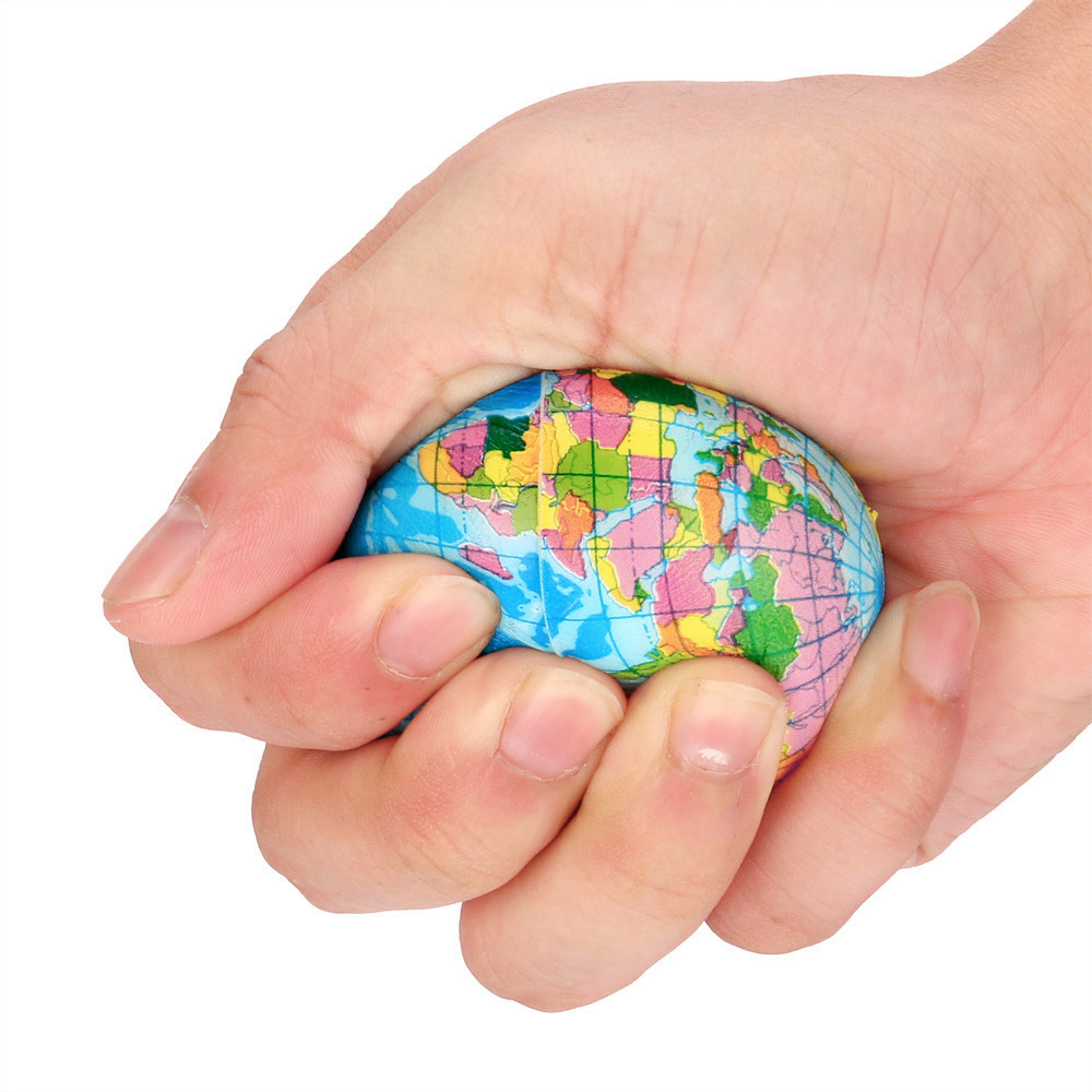 12Pcs/Set Soft Squishy Toy Earth World Map Toys For Children Slow Rising Stress Relief Antistress Novelty Gag Toy Kid Funny Gift 5