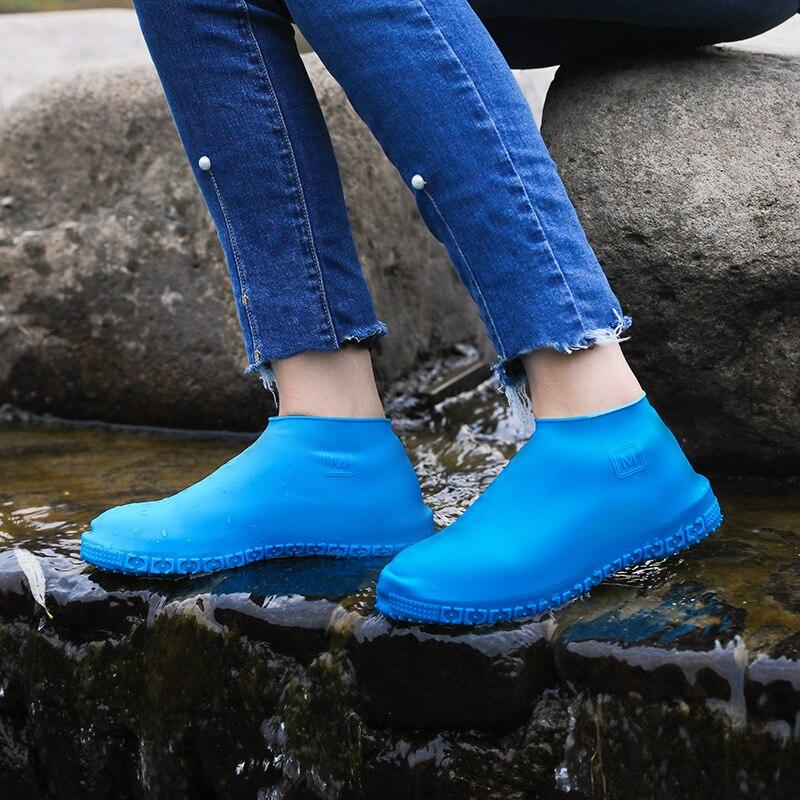 Cubierta impermeable para zapatos, Material de silicona, protectores Unisex para zapatos, botas de lluvia para interiores y exteriores, días lluviosos, tamaño grande Bolso de hombre TINYTA, bolso de hombro ligero para hombre, para 9,7 'pad 8 bolsillos, bolso cruzado Casual impermeable, bolsa de mensajero de lona negra, hombro