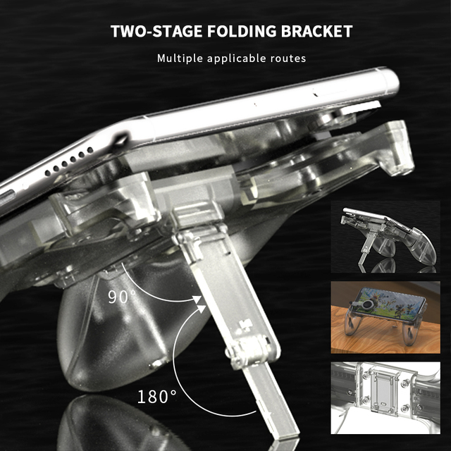 DATA FROG Game Controller Gamepad For PUBG L1R1 Shooter Trigger Fire Button Gamepad Joystick 2