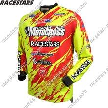 цена на RACESTARS Motorcycle gear Jerseys Moto jersey downhill jersey Mountain Bike Motocross Jersey BMX DH MTB T Shirt maillot Ciclismo