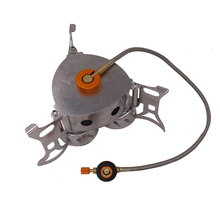 11000W Gas Burner High Power Camping Stove With Windproof Three Core Head Gas Stove
