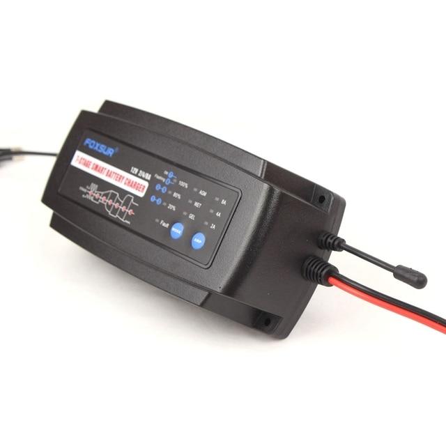 Купить автоматическое умное зарядное устройство 12 в 2 а 4 а 8 7 ступенчатое картинки цена