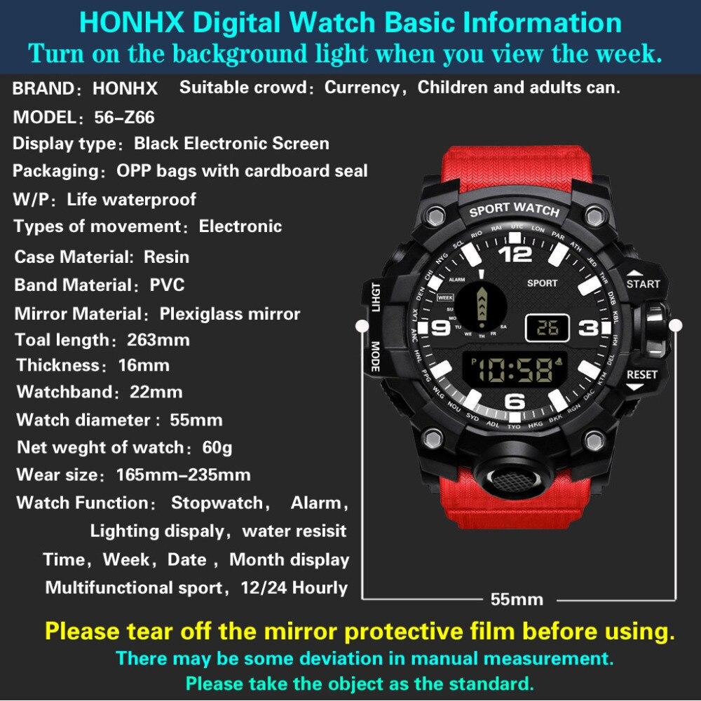 Ha44503a9f64c4b2d9457fe5b1d419f7fd HONHX Casual Sport Luxury Mens Digital LED Watch Date Sport Men Outdoor Electronic Watchelogio digital New Fashion Wristwatch #D