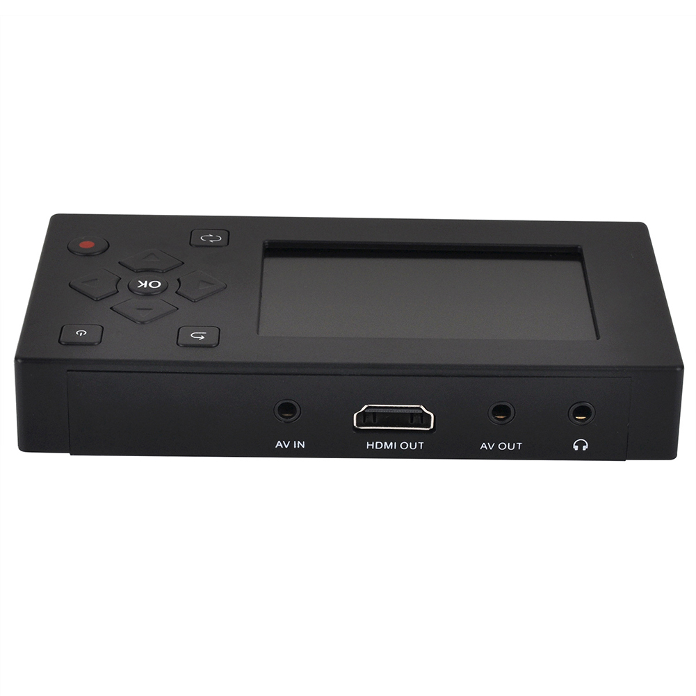 MP3 Player Audio VHS VCR Recorder Converter Professional Tapes Video Camcorder DVD AV Capture Analog To Digital MP4