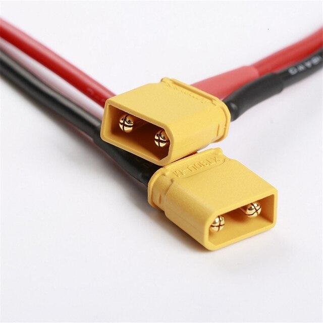 7cm XT30U XT30 mâle femelle prise 18AWG câble pour Section conseil soudure ESC 2S Lipo batterie pour RC modèles pièces Accs